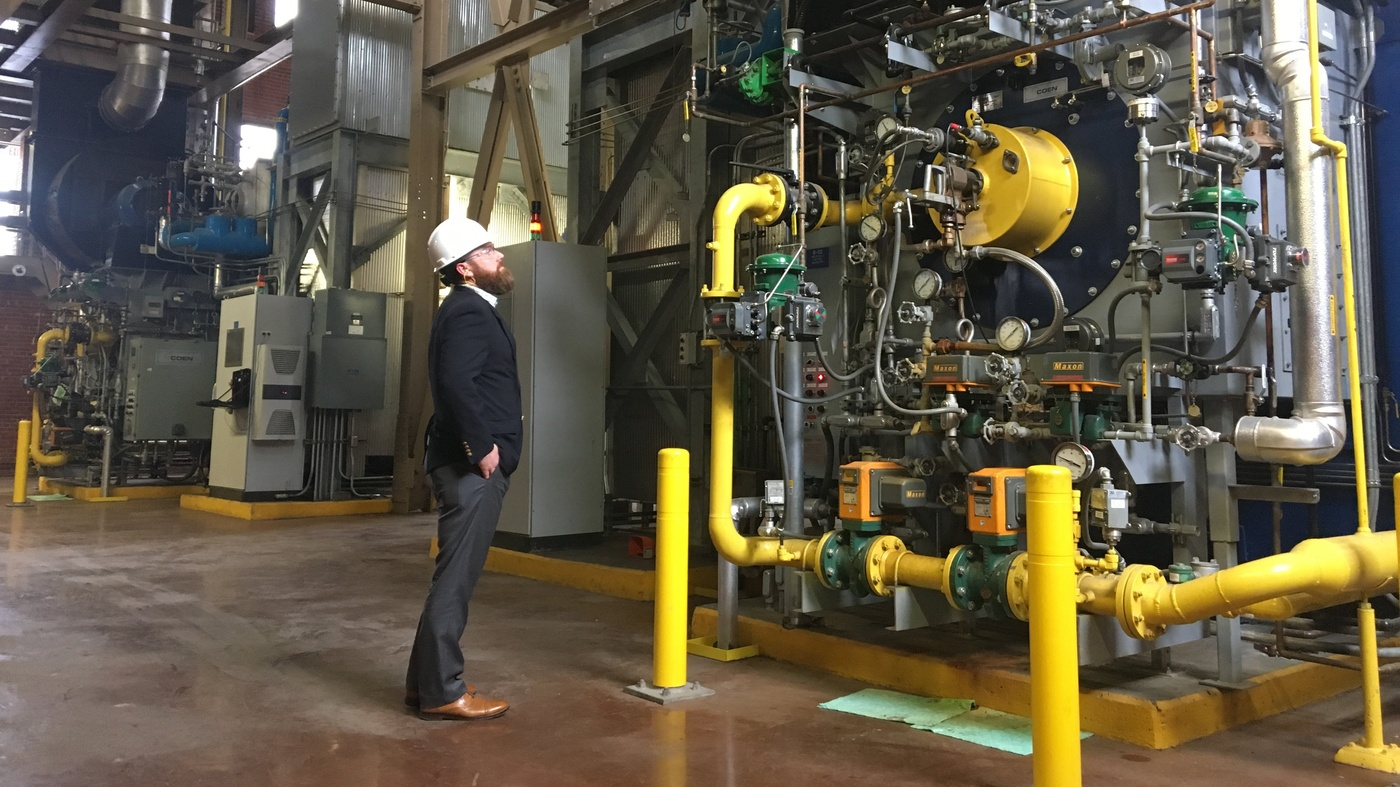 In North Carolina, Hog Waste Is Becoming A Streamlined Fuel