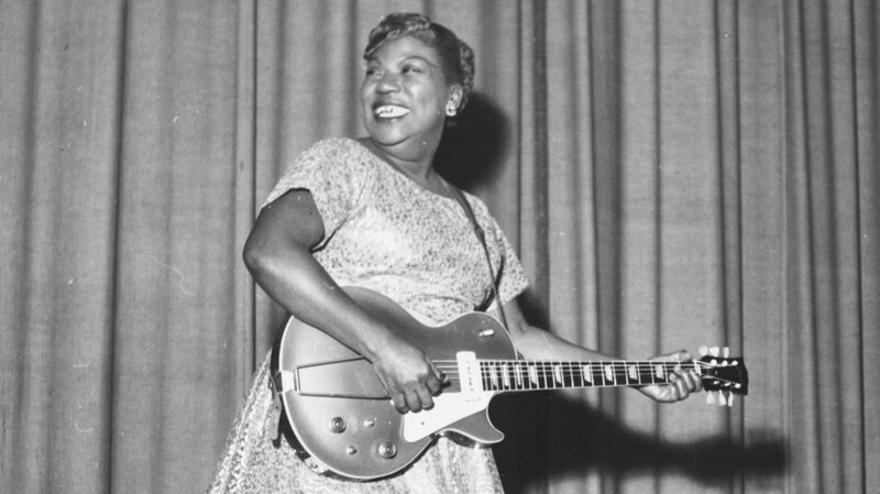 Image result for sister rosetta tharpe