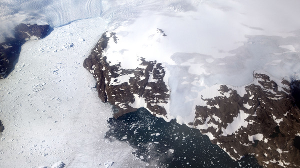 The Greenland ice sheet, the second largest body of ice in the world which covers roughly 80 percent of the country, has been melting and its glaciers retreating at an accelerated pace in recent years due to warmer temperatures.