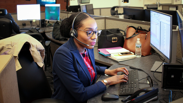 Ogechi Ukachu, one of the registered nurses recently hired to help staff D.C.