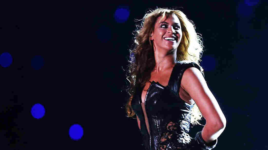 Beyonce performs during the Pepsi Super Bowl XLVII Halftime Show in 2013.