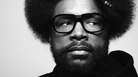 Questlove's latest book, available now, is called <em>Creative Quest</em>.