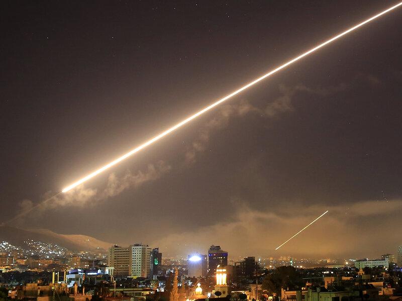 Debates Ensue After Western Missiles Hit Syria