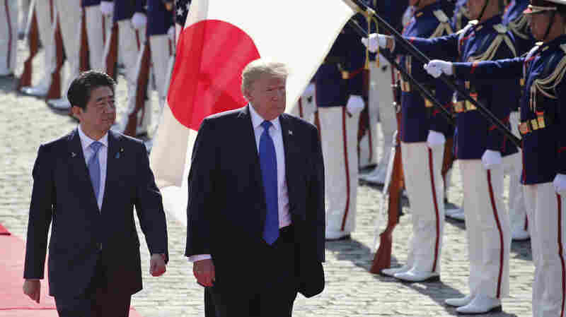 Japan's Premier Visits Trump Amid Troubles Both Foreign And Domestic