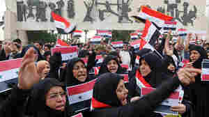 Iraqis Protest U.S.-Led Airstrikes Against Syria