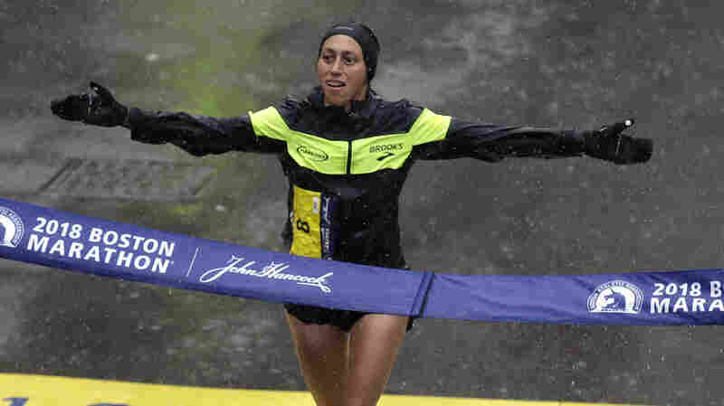 Desiree Linden Wins Boston Marathon — The First U.S. Woman To Win Since 1985