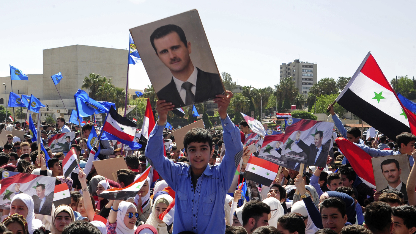Why No World Power Really Wants To Topple Syria's Assad