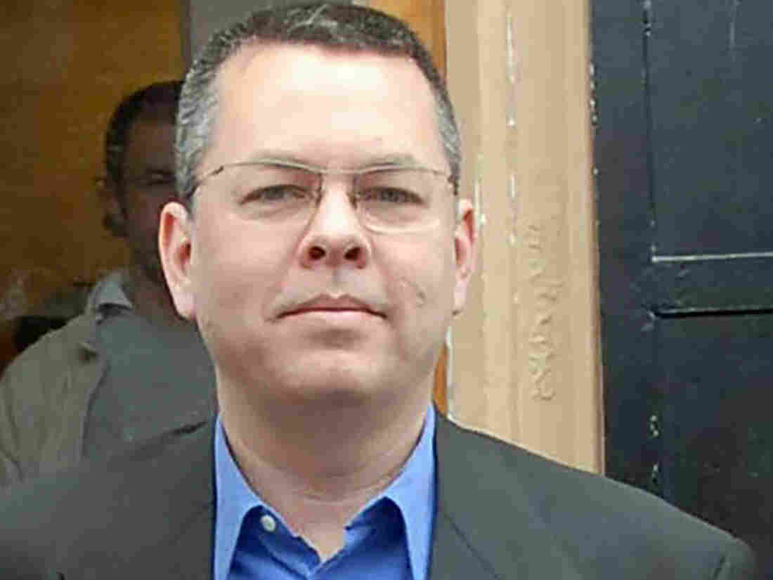 Trump Tweets support for American pastor on trial in Turkey