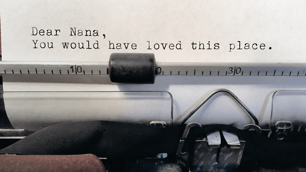 'Notes From A Public Typewriter' Muse On Everything From Cats To Commencement