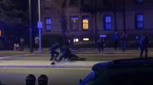 Video Shows Police Tackling, Punching Black Harvard Student