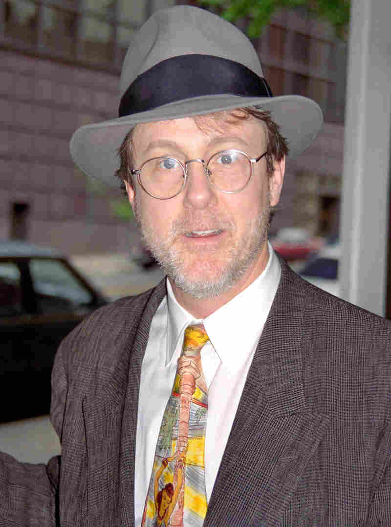 Harry Anderson during Harry Anderson Appears on the CBS Morning Show in 1996 at CBS Studio in New York City.