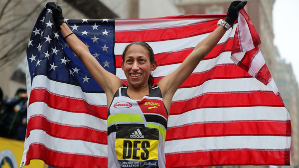 Boston Marathon women