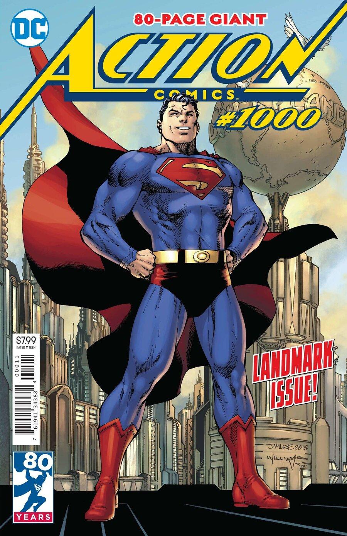 Superman Reaches A Publishing Milestone, In Classic Costume : Monkey ...