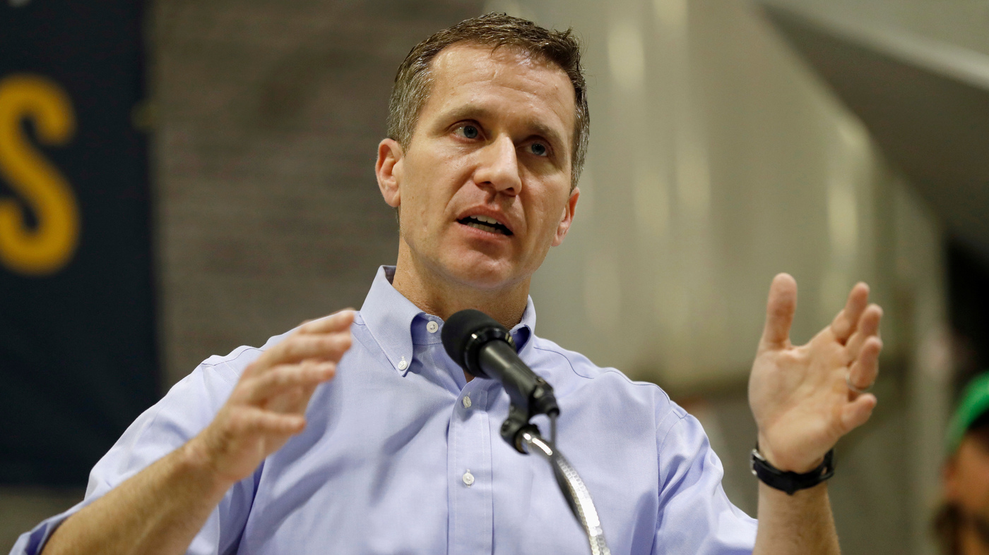 Missouri Governor Accused Of New Felony, After Allegations Of Assault And Blackmail