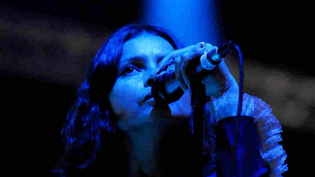 Hope Sandoval, performing at Coachella in 2012. Her longstanding group Mazzy Star will release a new EP on June 1.
