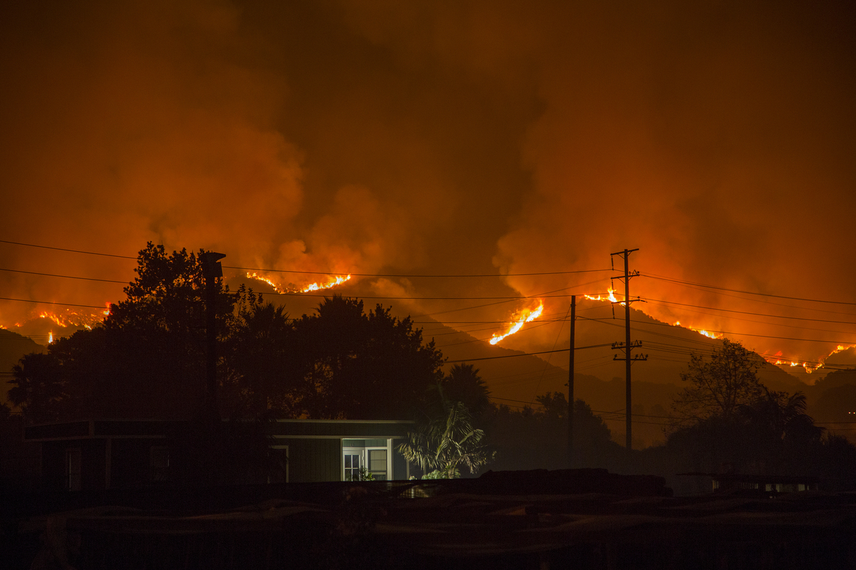 Fire At Santa Paula >> As Climate Costs Grow, Some See A Moneymaking Opportunity : The Two-Way : NPR