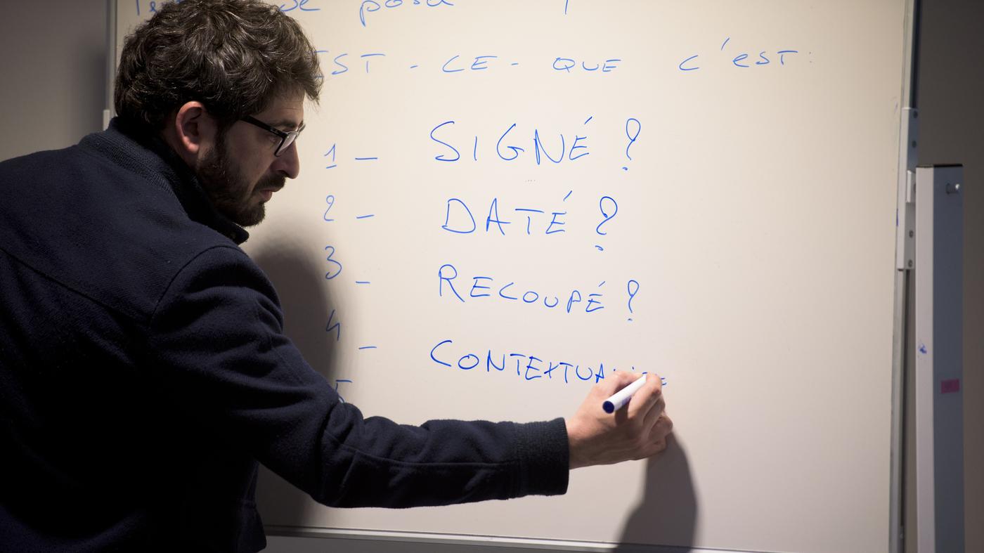 Fighting Fake News In French Schools : NPR Ed : NPR