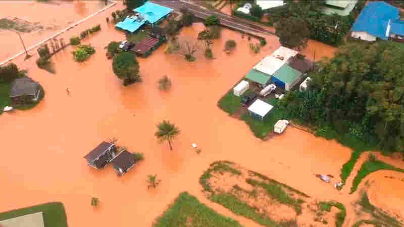 Kauai Struggles With Severe Flooding, As More Rain Is In The Forecast