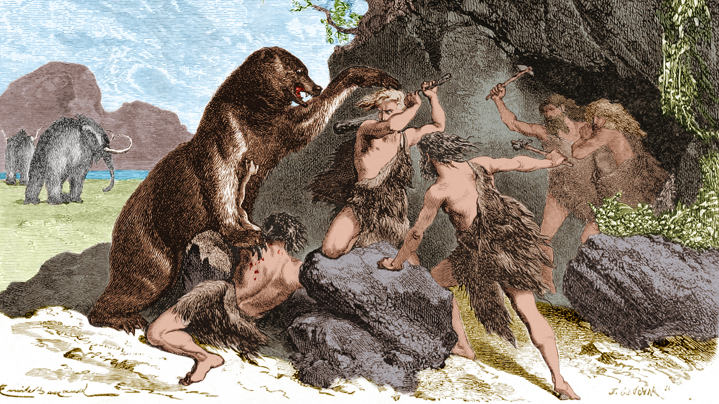 New Study Says Ancient Humans Hunted Big Mammals To Extinction