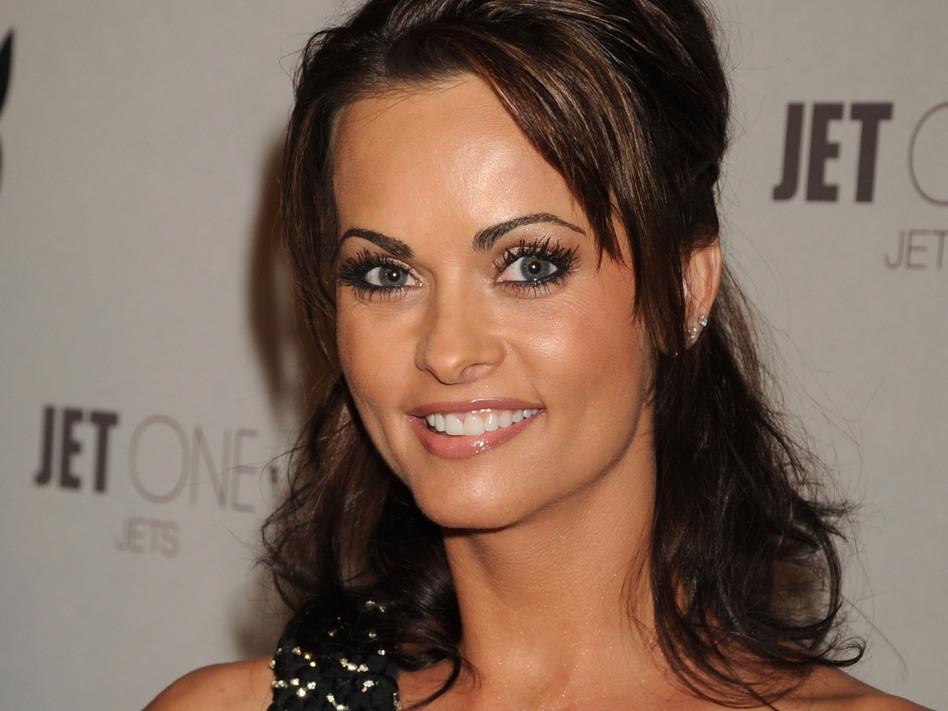 <em>Playboy</em> model Karen McDougal attends <em>Playboy</em>'s Super Saturday Night Party on Feb. 2, 2008 in Phoenix, Ariz. (Jeff Kravitz/FilmMagic)
