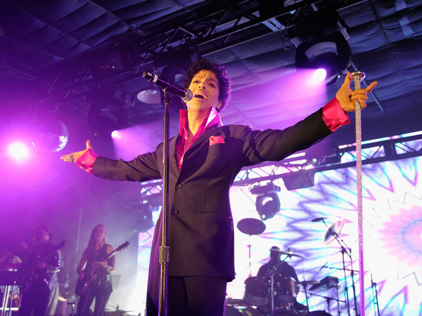 Prince performs live at SXSW in 2013.