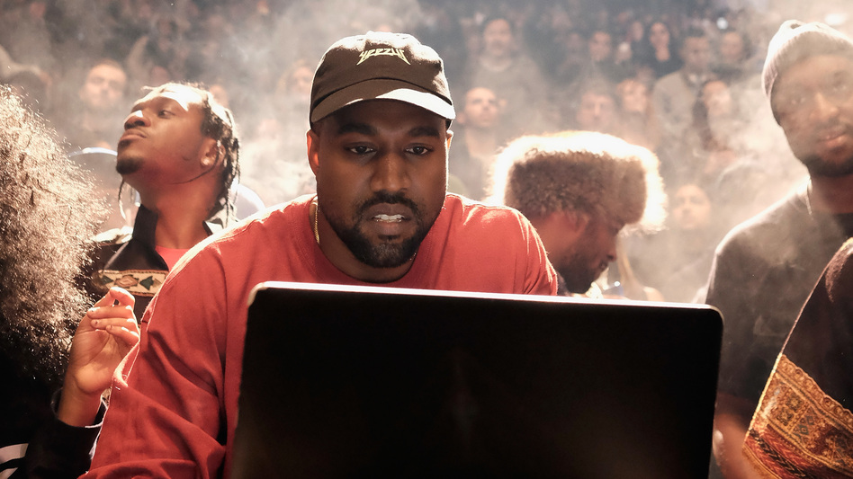 Kanye West returned to Twitter this week to post aphorisms... and announce several new albums, including one from Pusha-T (left).