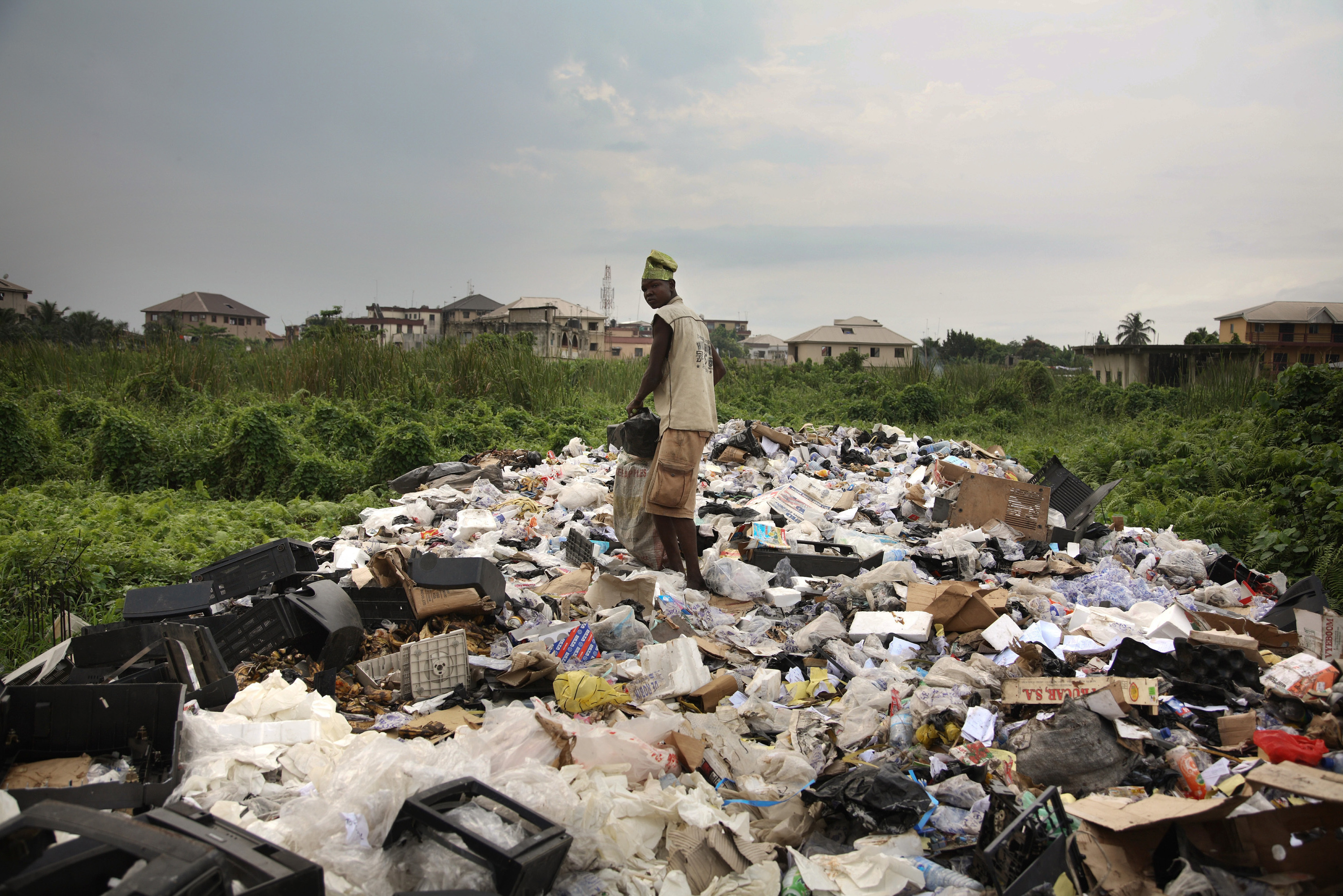 Used Cars Full Of Used Electronics Set Sail For Nigeria