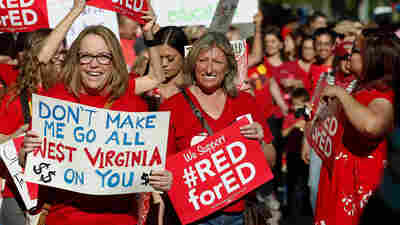 Arizona Teachers Vote To Strike, Sparking Statewide Walkout