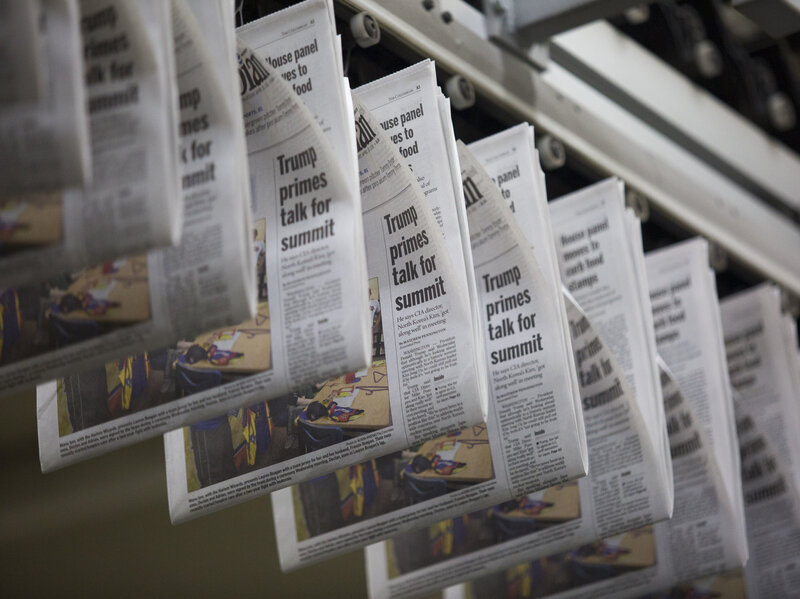 tariffs on canadian newsprint choke already troubled american papers