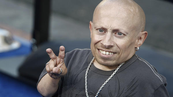 Actor Verne Troyer, seen in 2008 at the premiere of The Love Guru, has died at age 49.