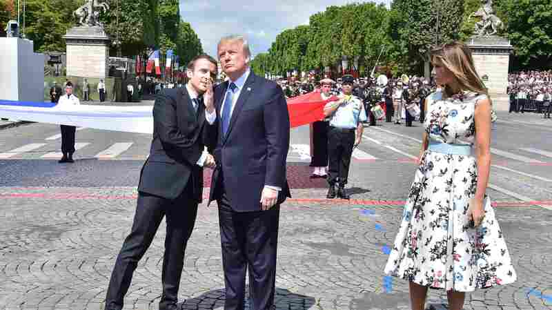 'A Close Personal Relationship' Under Pressure As Trump Hosts France's Macron