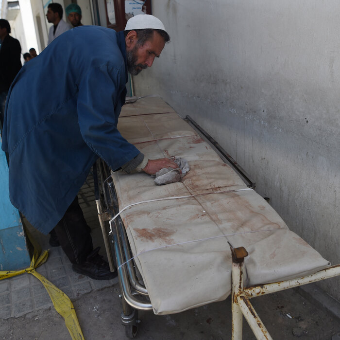 Suicide Bomber Kills Dozens At Voting Center In Afghanistan