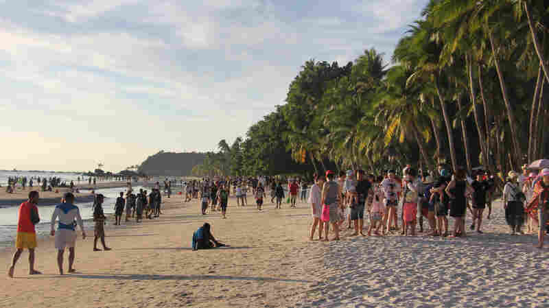 As Philippines Shuts Down A Popular Tourist Island, Residents Fear For Their Future