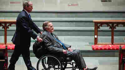 Former President George. H.W. Bush Hospitalized For Blood Infection