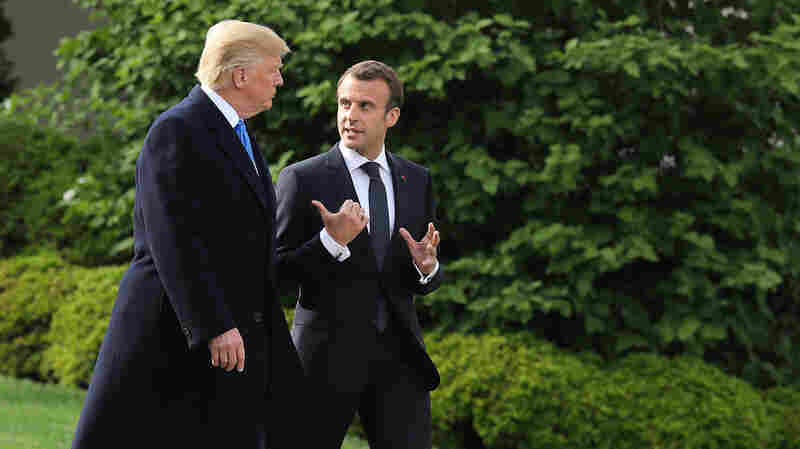 Trump, Macron To Hold Joint Press Conference During State Visit