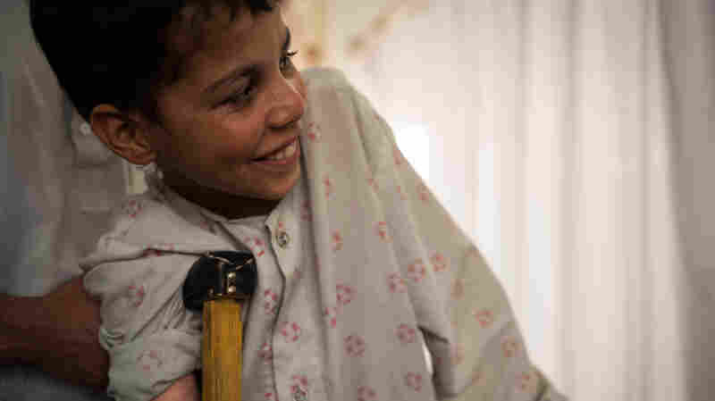 A 13-Year-Old In Afghanistan Won't Let His Injuries Get Him Down