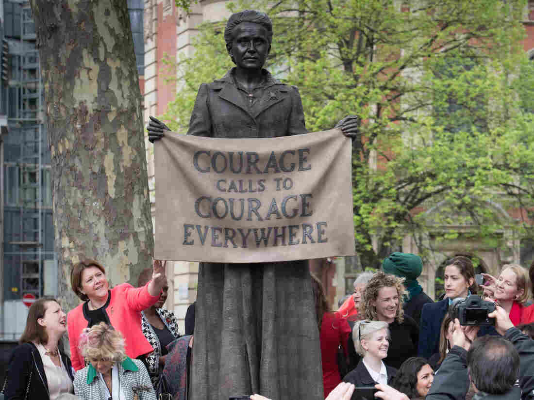 Millicent Fawcett statue is a first for women