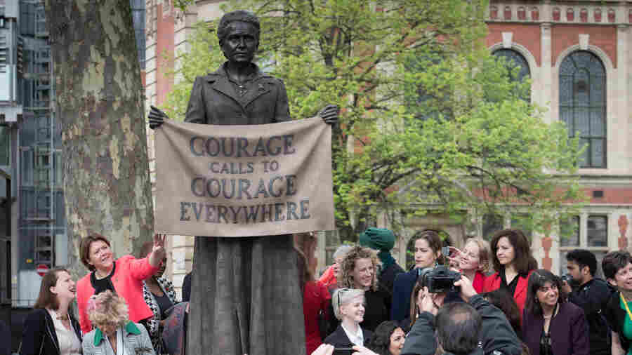 London's Parliament Square Gets Its First Statue Honoring A Woman