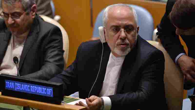 Iran's Foreign Minister Comes To America, Keeping One Eye On Saudi Arabia