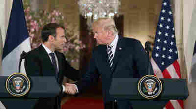 Trump-Macron Friendship Can't Mask Stark Differences On Iran, Syria And Trade