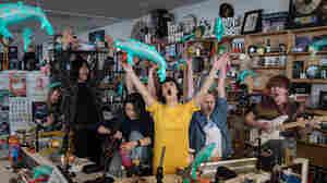 Superorganism: Tiny Desk Concert