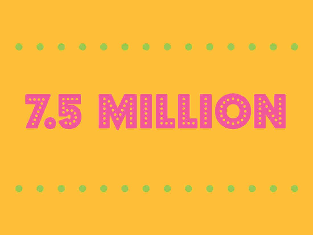7.5 million