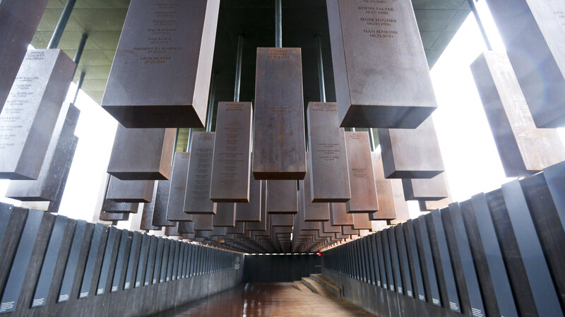 lynching memorial in alabama remembers the victims of unacknowledged
