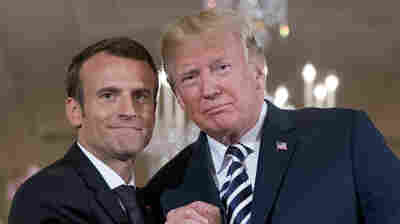 Macron Doesn't Believe He Changed Trump's Mind On The Iran Deal