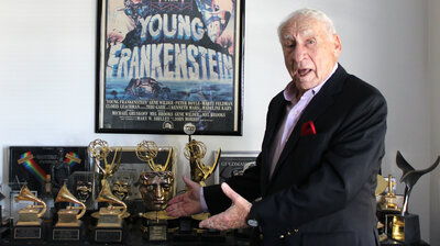 Mel Brooks Says It's His Job To 'Make Terrible Things Entertaining'