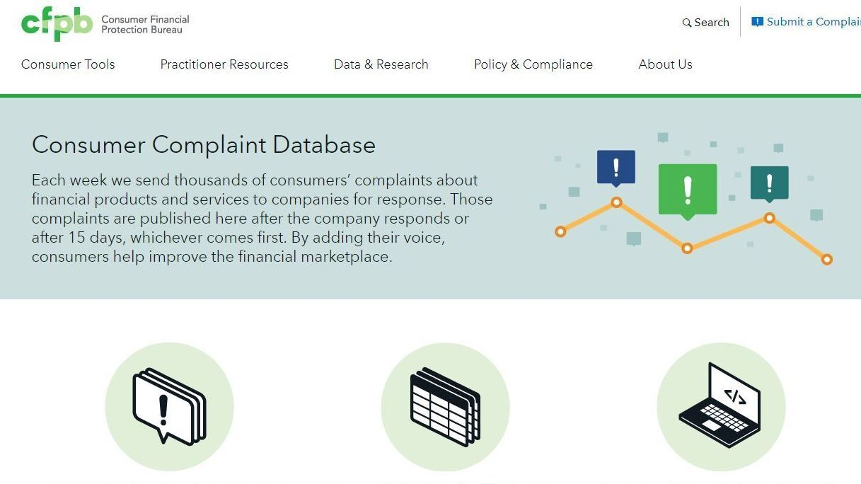 The Consumer Complaints Database That Could Disappear From View