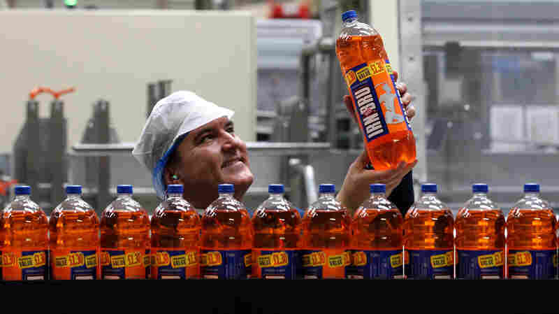Och, No! Some Scots Cry As Their Beloved Soda Gets A Less Sugary Revamp