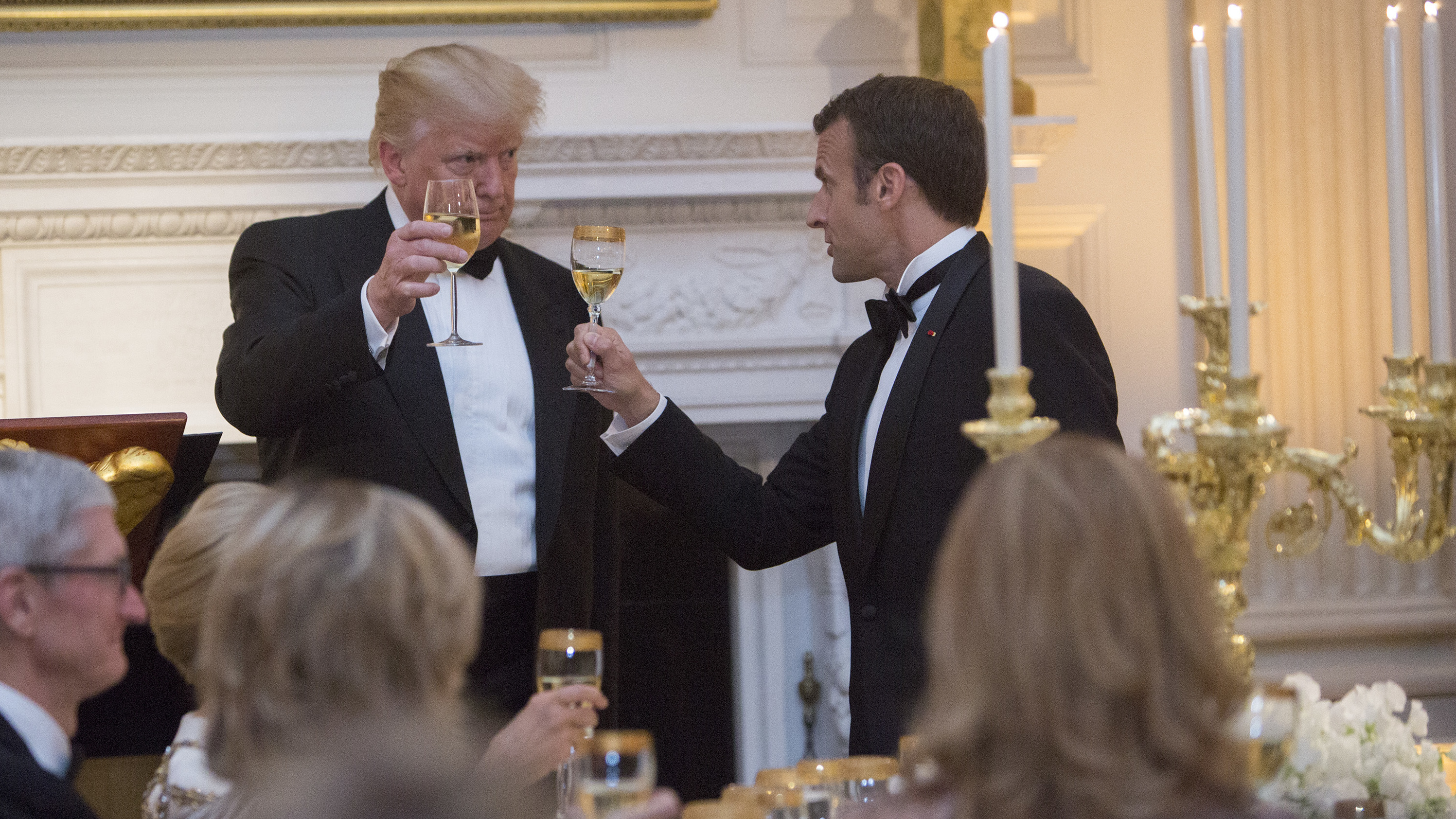 First Trump State Dinner Brings Billionaires And Administration Officials