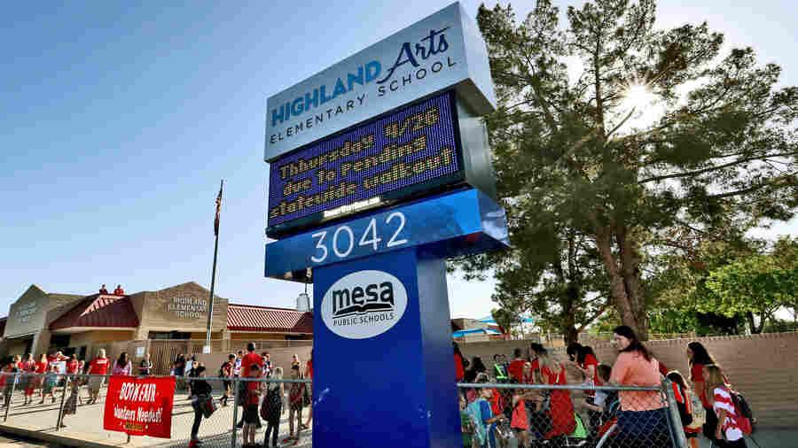 Scores Of Schools In Arizona Close As Teachers Embark On Massive Walkout