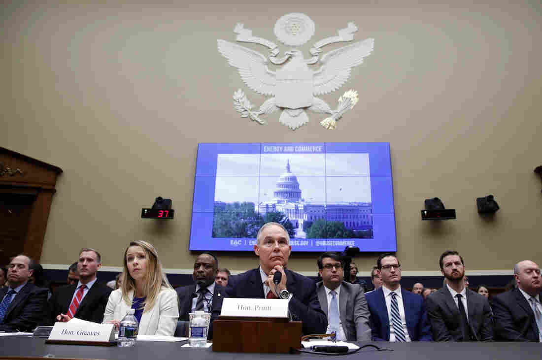 Scott Pruitt Faces Congress as Corruption, Ethics Scandals Grow